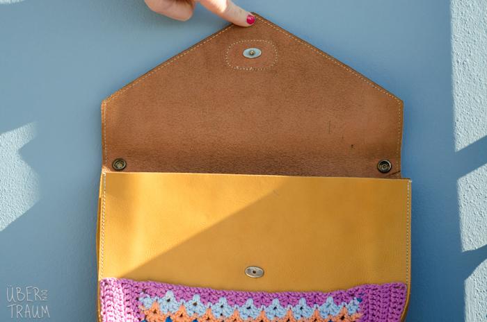 Color Crochet Envelope Purse Ber Den Traum