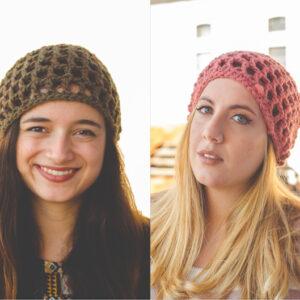 Crochet Bulky Lace Hat