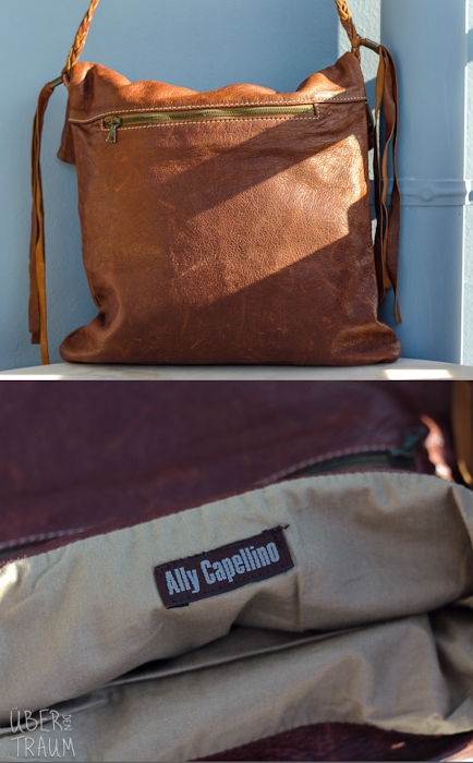 90's Ally Capellino Leather Shoulder Bag