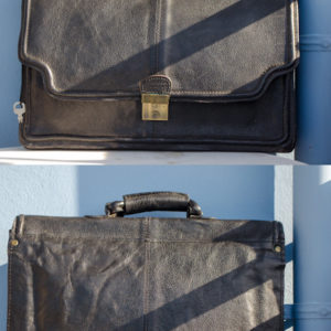 90's HiDesign Leather Office Bag