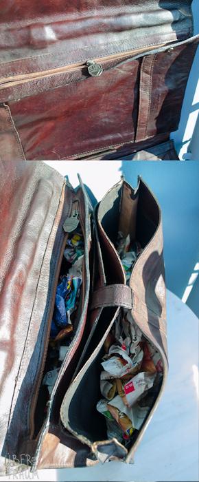 90's HiDesign Brown Leather Portfolio Bag