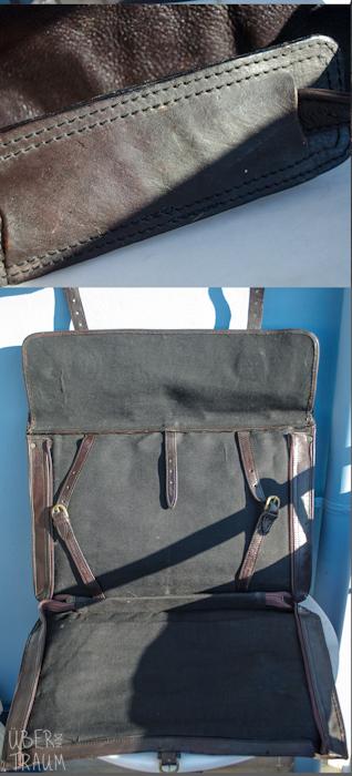 90's HiDesign Black Leather Weekender Bag
