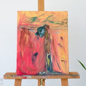 Abstract Oil Painting - 'The Eye II'