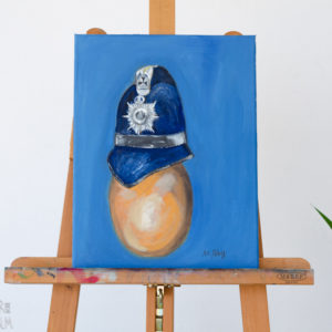Conceptual Art Oil Painting - 'The Egg I'